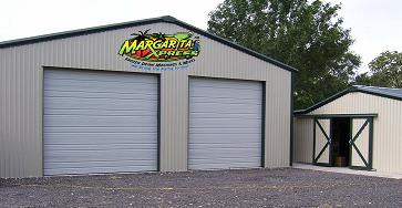 Warehouse and showroom for margarita machine sales and repairs new and used