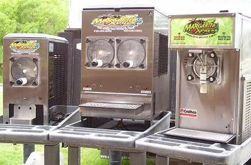 MARGARITA FROZEN DRINK MACHINE SALES RENTALS LEASES USED NEW MACHINES FOR SALE